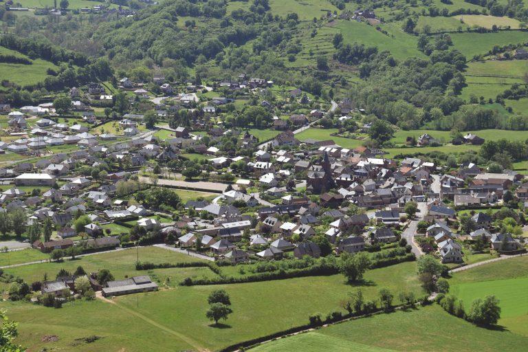 Vue de St-Christophe-Vallon