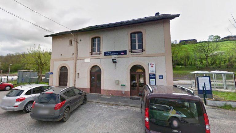 Gare de St-Christophe-Vallon